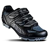 ZOL Predator MTB Mountain Bike and Indoor Cycling Shoes (Black...