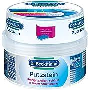 Dr. Beckmann Putzstein, für den ganzen Haushalt mit Aktivkohle, inkl. 2-Phasen-Putzschwamm, (400 g)