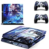 FENGLING Monster Hunter World Ps4 Adesivi Playstation 4 Skin Ps4 Sticker Decal Cover per Playstation 4 Ps4 Console e Skin Controller