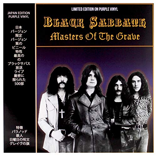 BLACK SABBATH - MASTERS OF THE GRAVE: LIMITED EDITION ON PURPLE VINYL
