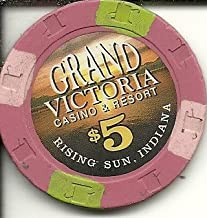 $5 grand victoria casino chip rising sun indiana