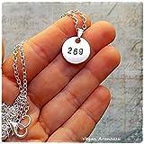 Collar 269 Life Colgante Vegan regalo para vegano accesorios veganos que regalar a un vegano amante animales bisuteria vegana regalo vegano