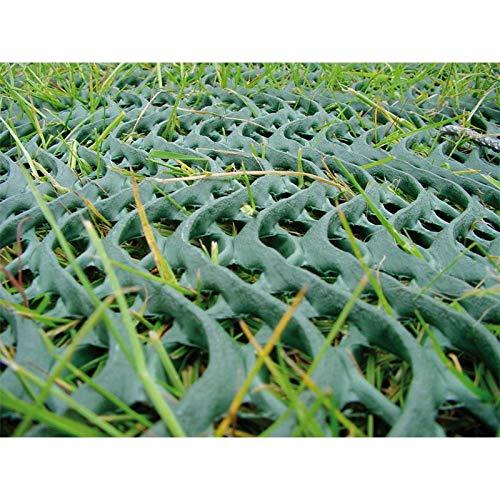 NOOR Premium Rasenschutzgitter grün 60 x 80 cm Rasenschutz Spurrillen Auto Autoreifen Reifen