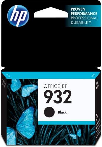 HP 932 Original Druckerpatronen mit hoher Reichweite für HP OfficeJet 7510, 7612, 7110, 6700, 6100, 6600, Schwarz, Standard