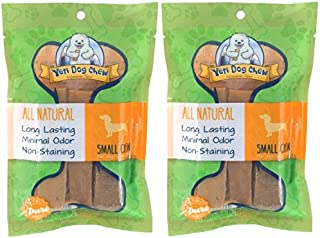 (2 Pack) Yeti Dog Chew - Small 6 Pieces, 7 Ounces each
