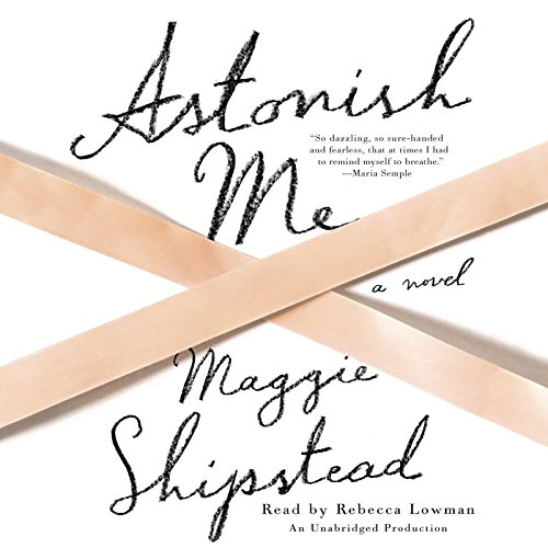 Astonish Me audiobook cover art