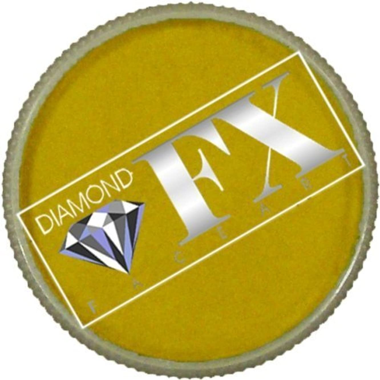 Diamond FX Metallic Face Paint - Gold (30 gm)