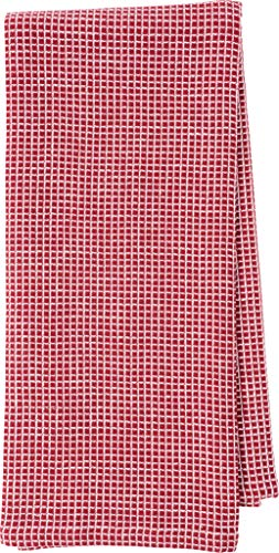 KAF Home Kitchen Towels, Set of 4 Absorbent, Durable and Soft Towels | Perfect for Kitchen Messes and Drying Dishes, 18 x 28 – Inches, Wine