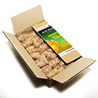 Natural ECO Firelighters 100pcs. in the box, firestarters for Fireplace, Stoves, Barbecues and Campfires , Fireplace…
