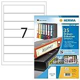 HERMA 12900 Ordnerrücken Etiketten DIN A4 ablösbar