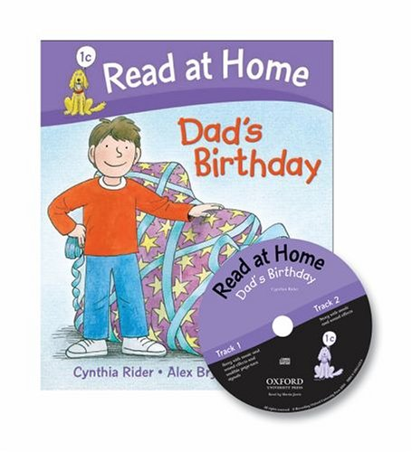 Read at Home: 1c: Dad's Birthday Book + CD (Read at Home Level 1c)の詳細を見る