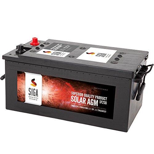 AGM 230Ah Solarbatterie Versorgungsbatterie 200Ah 220Ah
