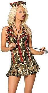 HESANYU CA Halloween Play a Camouflage Field Uniforms Sexy Nurse Nursing Uniforms Battlefield
