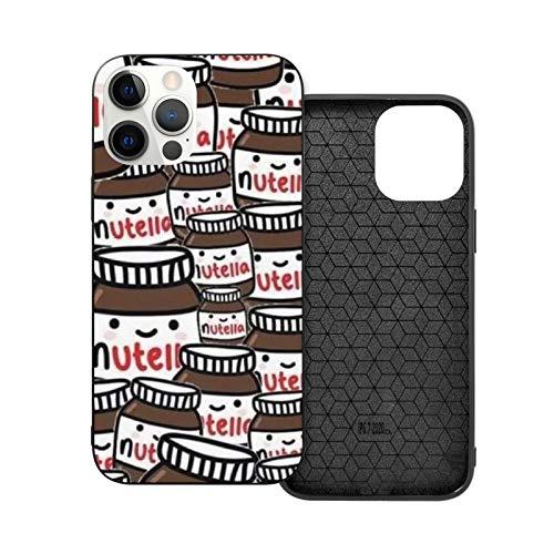 Nutella Peanut Bread Jam iPhone 12 / iPhone 12 Mini / iPhone 12 Pro / iPhone 12 Pro Max - Carcasa para teléfono resistente a los golpes y arañazos
