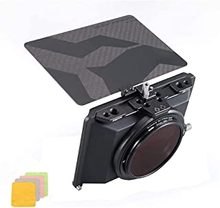 Tilta Mini Matte Box Tiltaing Mini Matte Box Lens Hood for DSLR Mirrorless Style Cameras BMPCC 4K 6K Rig with 3 Cleaning C...