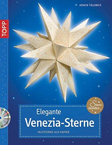 Elegante Venezia-Sterne: Faltsterne aus Papier