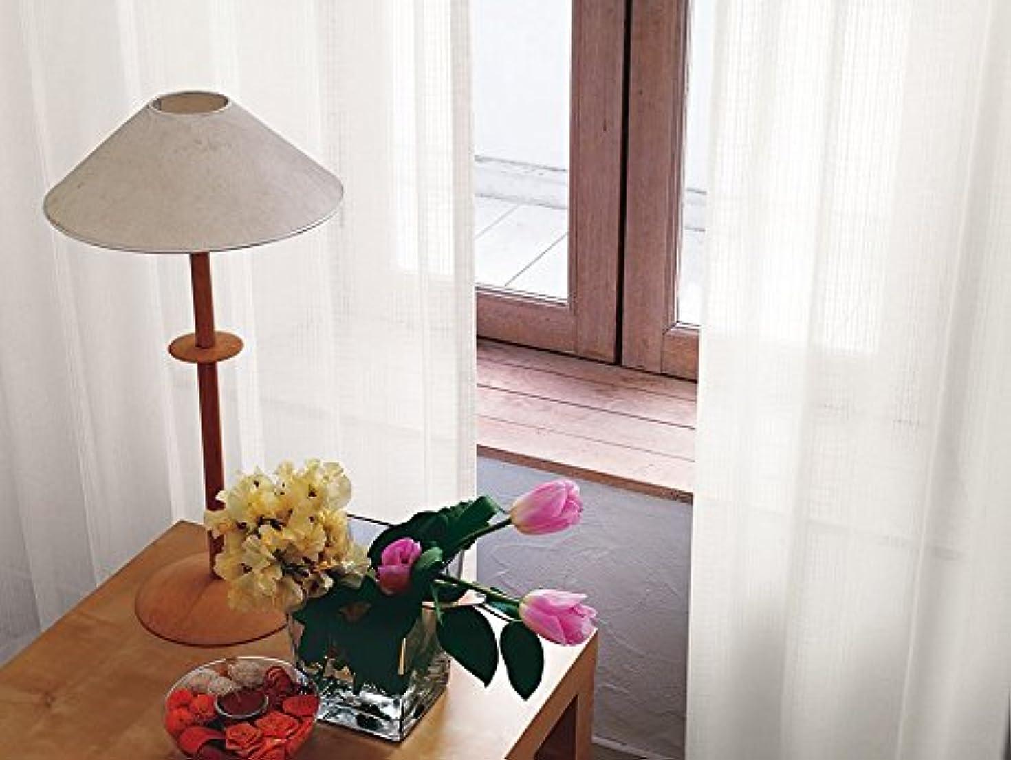 協力的洗うレビュー東リ 繊細なチェックの柄 フラットカーテン1.3倍ヒダ KSA60474 幅:300cm ×丈:170cm (2枚組)オーダーカーテン