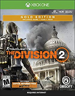 Tom Clancy's The Division 2 Gold Steelbook Edition - Xbox One (B07GTVGCQK) | Amazon price tracker / tracking, Amazon price history charts, Amazon price watches, Amazon price drop alerts