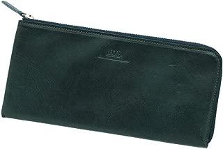 薄マチL字ファスナー財布 ロング 栃木レザー BECKER(ベッカー)日本製