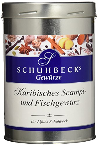 Schuhbeck Karibisches Scampi und Fischgewürz, 1er Pack (1 x 500 g)