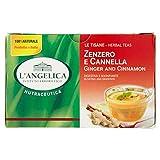 L'Angelica Tisana Zenzero e Cannella - 20 Filtri