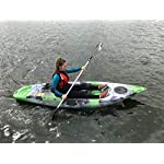 Riber One Person Sit on Top Kayak Deluxe Starter Pack- Ideal for Beginners - Multiple Colours