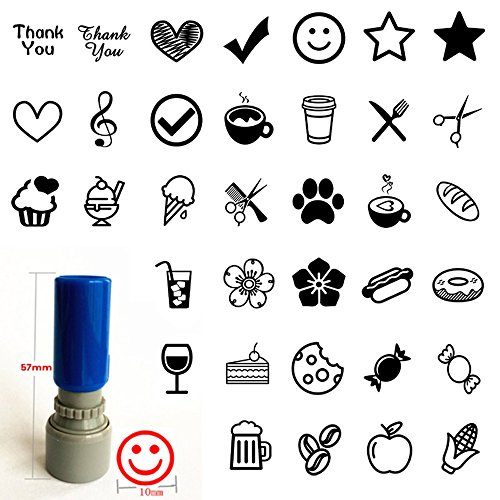 Loyalty card Self inking Rubber Stamp for business SHOP BAR CLUB CAFE RESTAURANT