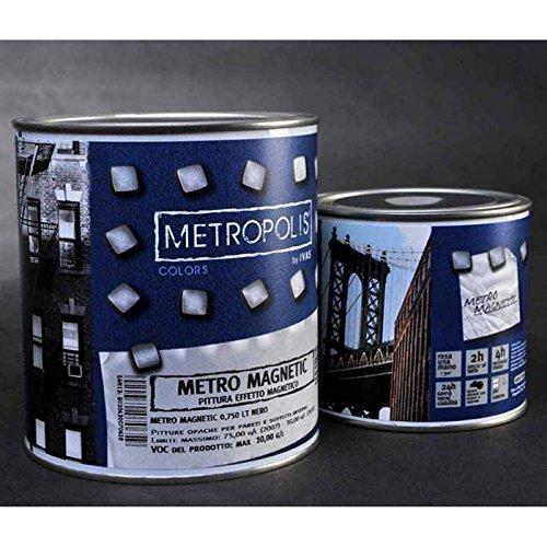 Vernice effetto magnetico - Vernice calamita Metro Magnetic - 375 ml