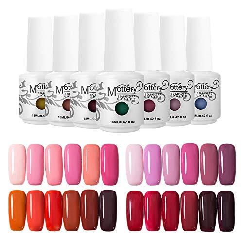 6 PCS Manicuring Kit Spring Summer Gel Nail Polish Glue Nail Glue Nails Liquid Nail 10mlX6
