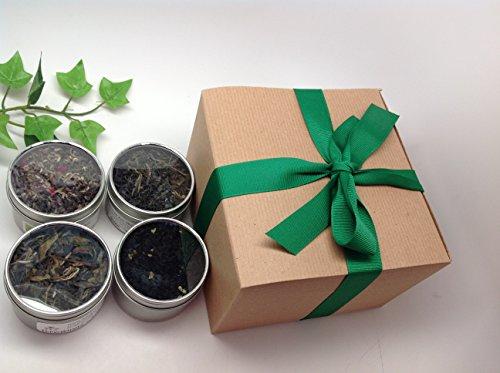 MusicCityTea Gift Loose Tea Sampler Gift Wrap Best Seller