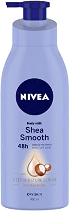 NIVEA Body Milk, Shea Smooth, 400ml