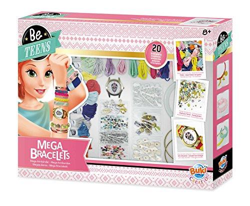 Buki France- Be Teens, Mega Bracelets...