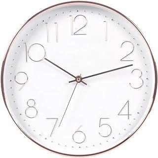 Wall clock تعمل بطارية ساعة الحائط 12 بوصة كتم صامتة غير تداعج لقراءة المنزل/مكتب/مدرسة Wall clocks