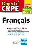 Objectif CRPE En Fiches Français - 2016