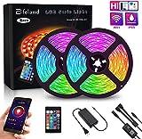 Best Strip Lights - LED Strip Lights, Elfeland WiFi 32.8FT 10M 300 Review