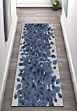 Hallway Runner Alfombra de pasillo impermeable y antideslizante antideslizante para escalera, alfombra larga (color: A, tamaño: 1 × 4 m)