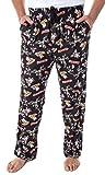 INTIMO The Gremlins Men's Gizmo Stripe Daffy Mogwai Allover Character Adult Sleep Lounge Pajama Pants (MD)