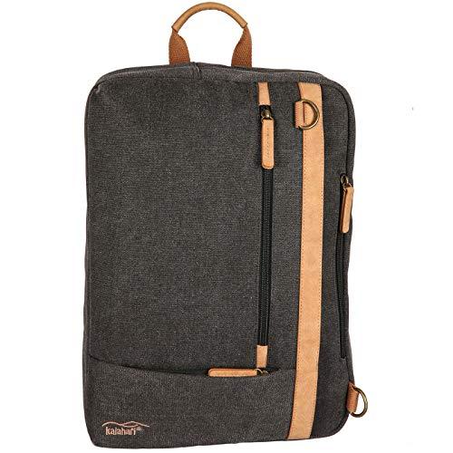 Kalahari GOPE K-53 Rucksack/Messenger Bag anthrazit grau