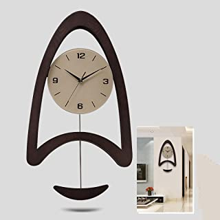 Wall Clock- Wooden/Personality/Homepage/Clock, Fashion Wall Clock Mute Creative Clock Wall Clock Living Room Bedrooe Simpl...