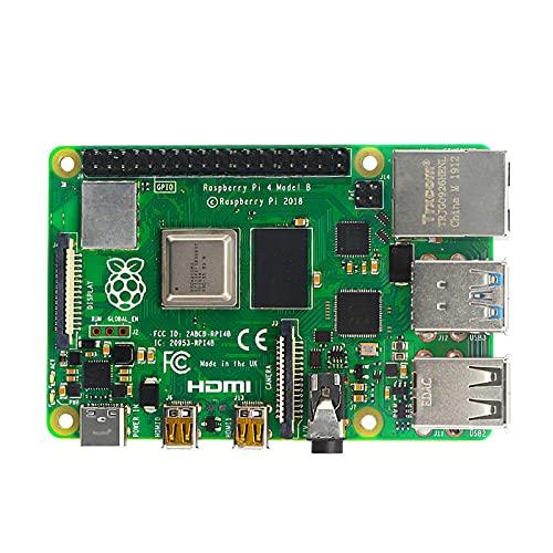No application Entwicklungsplatine Kit Bluetooth 5.0 2,4 GHz 5 GHz Dual Frequency WiFi Quad Core CPU USB 3.0 Type-c 5V 3A 1-4G DDR4 8G RAM 4K Ausgang für Raspberry Pi 4 Modell B für Python