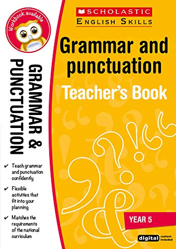 Grammar and Punctuation Teacher Resource for teaching children ages 9 to 10...