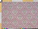 Walter Kern Polsterstoff Deko-Stoff Meterware Tulip rosa