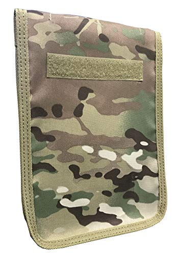 Military Luggage Company Multicam OCP Zippered 6 x 9 Top Spiral Notebook Cover (Includes 6 x 9 Notebook)