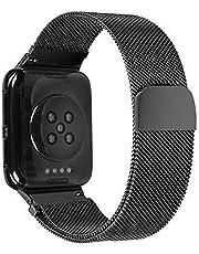 Sostituzione Cinturino dell'orologio, Cinturino dell'orologio per Orologio Oppo 46MM Smart Watch Compatibile con Cinturino in Metallo in Acciaio Inossidabile milanese