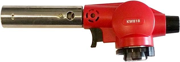 Auscrown Butane Gas Blowtorch/Cook's Blowtorch, Red, KW818