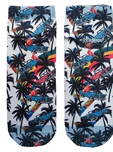 Wigglesteps 2006-02231-502 Vintage Palm - Protector de cabeza, color azul azul Talla única