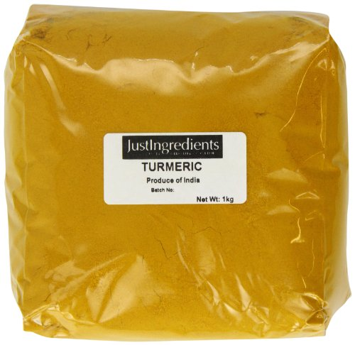 JustIngredients Essential Cúrcuma, Pack de 2, 1000 gr x 2, Total 2000 gr