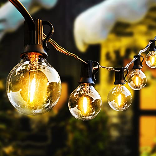 LED Outdoor String Lights with P...