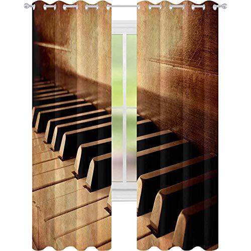 Printed Bedroom Curtain