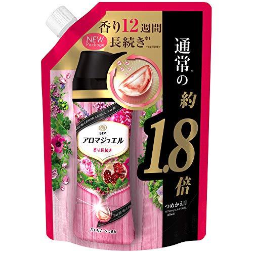 スマートマットライト レノア ハピネス アロマジュエル 香りづけ専用ビーズ ヘビロテ服も新鮮な香り長続き ざくろブーケ 詰め替え 約1.8倍(805mL)